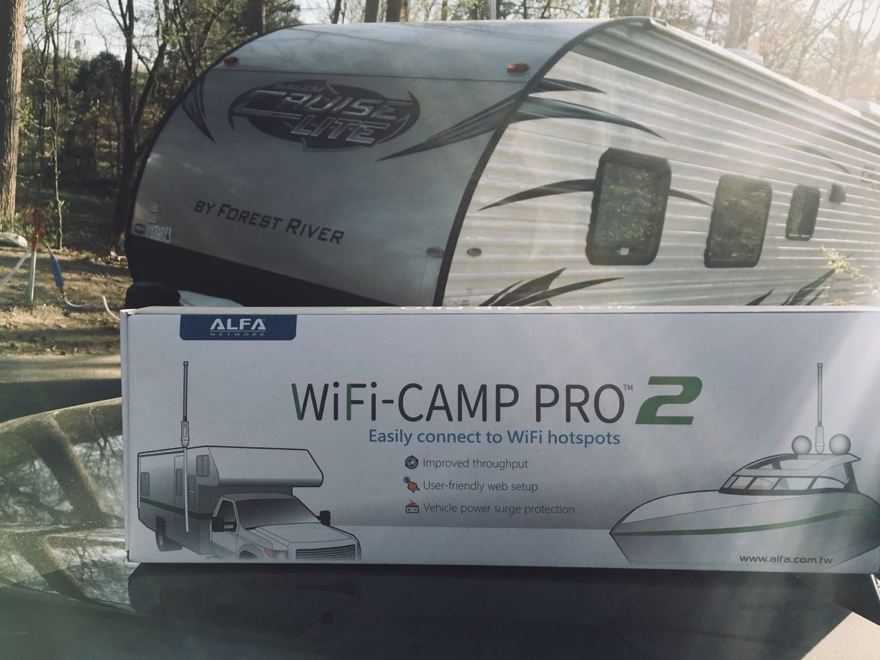 WiFIiCamp Pro 2 Unboxing and Review
