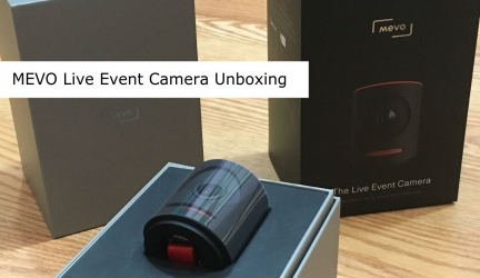 In The Box of the MEVO Live Event Camera