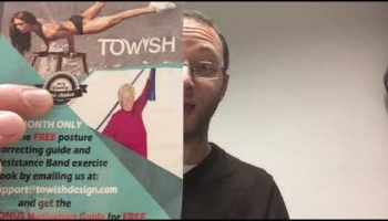 ToWish Posture Corrector Unboxing